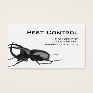 Plage-Kontrollen-Geschäfts-Karten-Schabe Visitenkarten