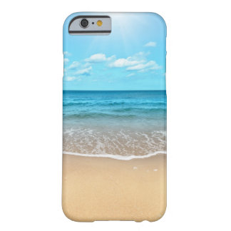 Plage sablonneuse parfaite coque iPhone 6 barely there