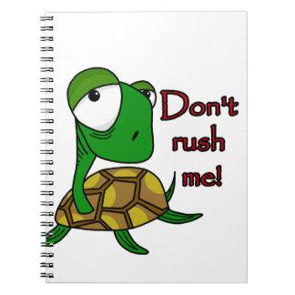 Plaisanterie de tortue carnet