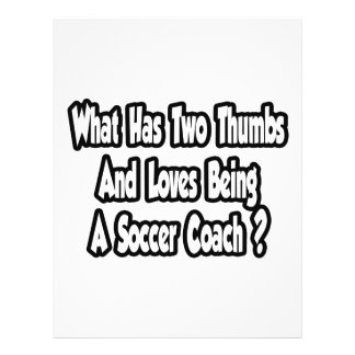 Plaisanterie d'entraîneur du football… deux pouces prospectus