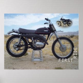 Plakat 1971 Yamahas RT1 360MX
