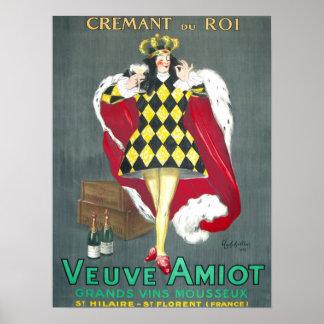 Plakat Cremant du Roi Vintage Champagne
