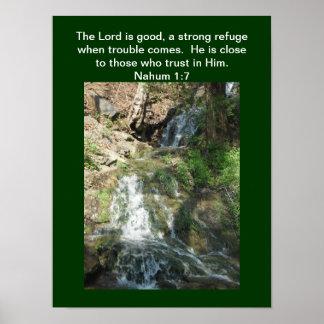 Plakat - der Lord ist gut