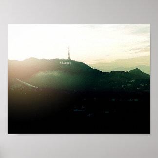 Plakat-Kunstphotographie Hollywood Kalifornien Poster