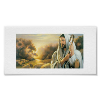 Plakat-Papier - Kirchen-Glauben-Logo Poster