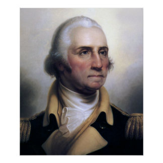 Plakate Präsidenten-George Washington