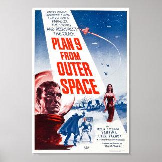 Plan 9 vom Weltraum Poster