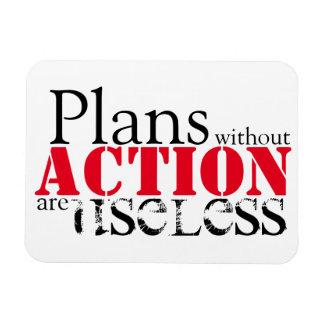 Plan-Aktions-Magnet Magnet