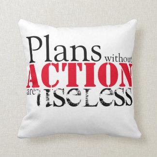 Plan-Aktions-Wurfs-Kissen Kissen
