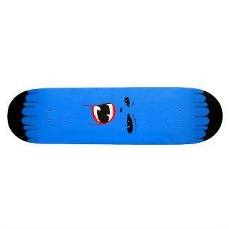 Planche à roulettes bleue de coutume de vamp plateau de skateboard