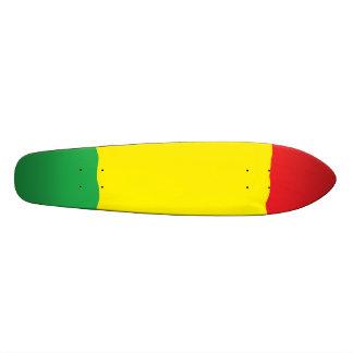 Planche à roulettes de croiseur de bombe de Rasta Skateboard
