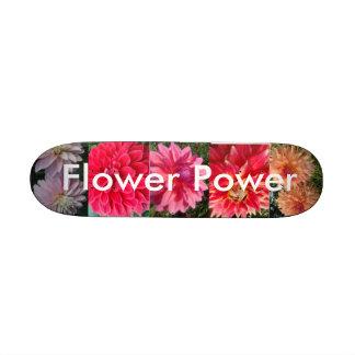 Planche à roulettes de flower power skateboard 21,6 cm