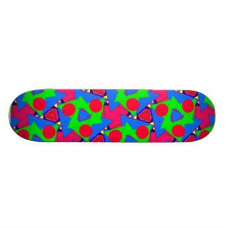Planche à roulettes lumineuse d'été skateboard old school 18,1 cm
