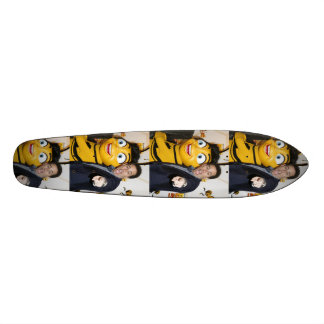 Planche à roulettes maladroite de photo de film skateboard customisable