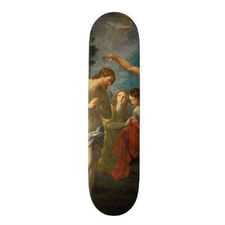 Planches à roulettes religieuses d'art