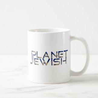 Planet jüdisch kaffeetasse