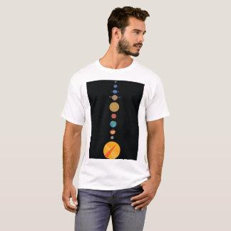 Planeten ausgerichtet T-Shirt