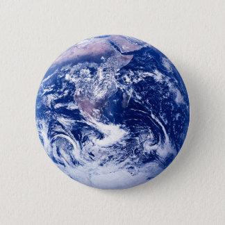 Planeten-Erde Runder Button 5,1 Cm