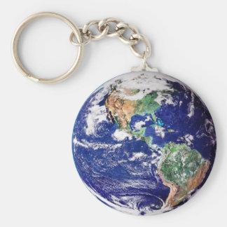 Planeten-Erde Schlüsselanhänger