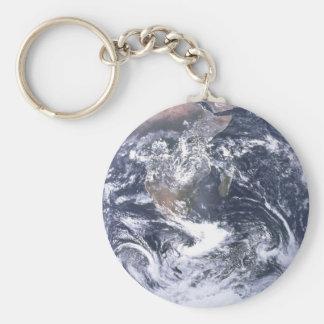 Planeten-Erde vom Raum-Tag der Erde Schlüsselanhänger