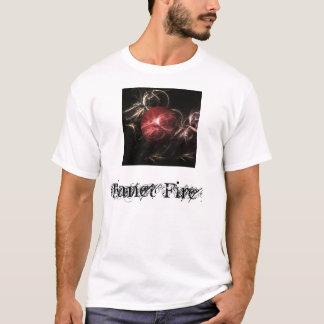 Planeten-Feuer T-Shirt