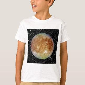 PLANETEN-JUPITERS MONDeuropa-Sternhintergrund T-Shirt