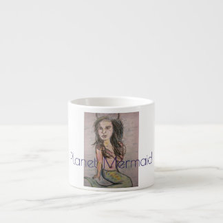 Planeten-Meerjungfrau Espressotasse