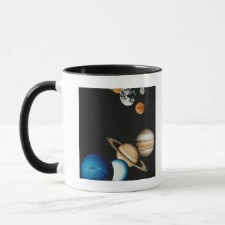 Planeten-Zusammensetzung Tasse