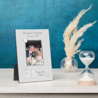Plaque Photo Photo personnalisée d'anniversaire de noces