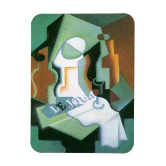 Plat de bouteille et de fruit par Juan Gris, Magnets En Vinyle