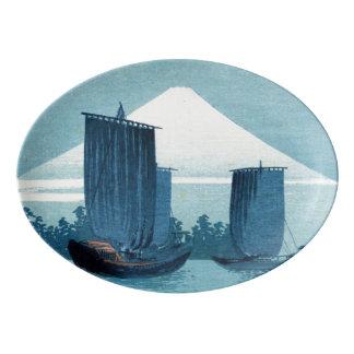Plateau japonais de voiliers