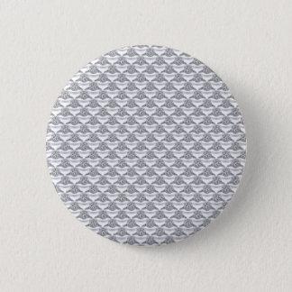 Platin-Diamant-Ring Runder Button 5,7 Cm