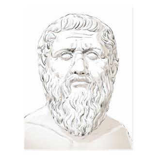 Plato Postkarte