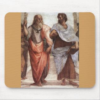 Plato und Aristoteles Mauspad