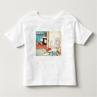 Platte und Löffel Kleinkinder T-shirt