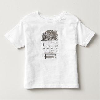 Platte XVIII: Des Instrumentdie werkstatt und das Kleinkinder T-shirt