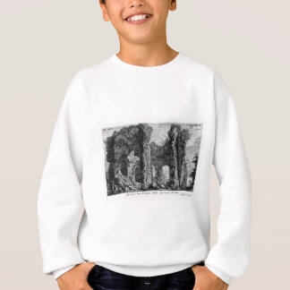 Platte XVIII. Ruinen des Tempio della Speranza Sweatshirt