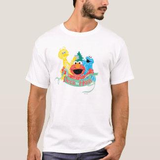 Plattform das Hall-Sesame Street T-Shirt