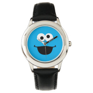 Plätzchen-Gesichts-Kunst Uhr