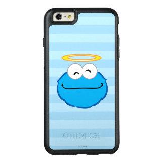 Plätzchen-lächelndes Gesicht mit Halo OtterBox iPhone 6/6s Plus Hülle
