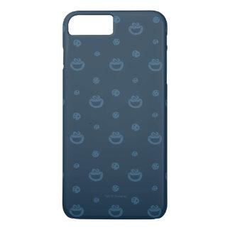 Plätzchen-Monster-und Plätzchen-blaues iPhone 8 Plus/7 Plus Hülle