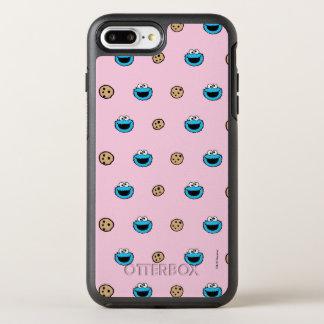 Plätzchen-Monster und Plätzchen-rosa Muster OtterBox Symmetry iPhone 8 Plus/7 Plus Hülle