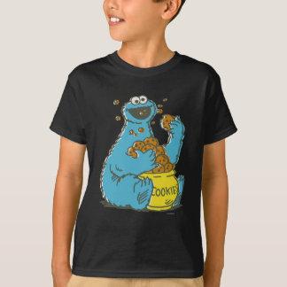 Plätzchen-Monster Vintag T-Shirt