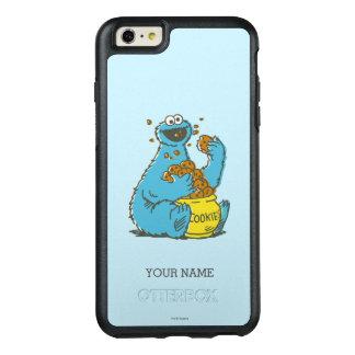 Plätzchen-Monster Vintages | addieren Ihren Namen OtterBox iPhone 6/6s Plus Hülle