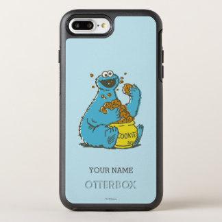 Plätzchen-Monster Vintages | addieren Ihren Namen OtterBox Symmetry iPhone 8 Plus/7 Plus Hülle