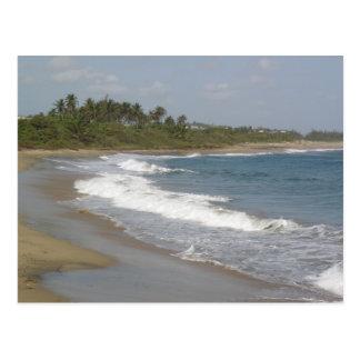 Playa de Hatillo Postkarte