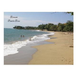 Playa en Rincon Puerto Rico Postkarte