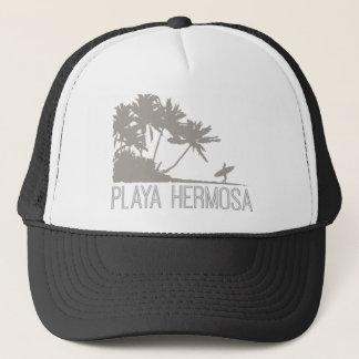 Playa Hermosa Brandung Costa Rica Truckerkappe