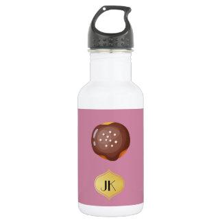 Playfully köstlicher Mund-wässernkrapfen Trinkflasche
