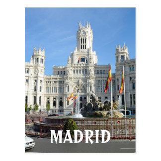 Plaza de Cibeles, Madrid Postkarte